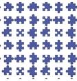 Seamless Jigsaw Pattern vector image vector image