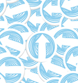 Abstract background of arrows vector image vector image