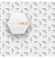 Abstract seamless geometric cube pattern with