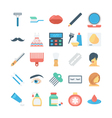 Beauty and SPA Colored Icons 4 vector image