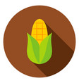 corn circle icon vector image vector image