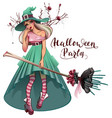 cosplay fashionable dress for halloween party vector image vector image