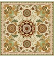 Design for square pocket shawl textile vector image vector image
