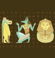 Egypt character design vector image vector image