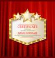 Elegant template diploma