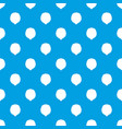 hazelnut pattern seamless blue vector image vector image