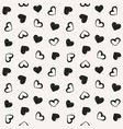 love theme hearts valentines day seamless pattern vector image vector image