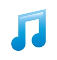 musical note icon design vector image