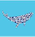 ocean pollution vector image vector image