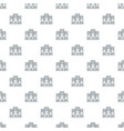 safe the data pattern seamless vector image