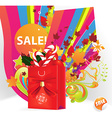 sale promotion for all seasons vector image vector image