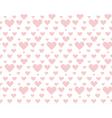 valentine pale pink seamless polka dot pattern vector image vector image
