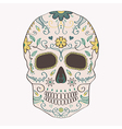 Day dead skull with ornament