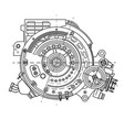 electric motor section representing the internal vector image