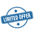 limited offer vector image vector image
