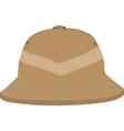 Safari hat vector image vector image
