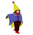 small wizard vector image vector image