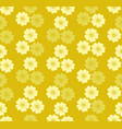 floral blossom seamless pattern background vector image vector image