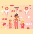 hen party invitation beauty vector image
