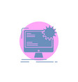internet layout page site static glyph icon vector image