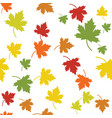 maple leaf seamless vector image