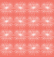 peach and white seamless repeat pattern of vector image