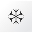 risk icon symbol premium quality isolated frosty vector image vector image