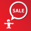sale template vector image
