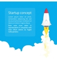 Startup concept vector image