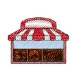 bakery bread shop vector image