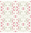 flower bed print vector image