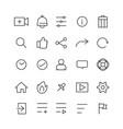 icon web social vector image