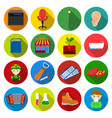 medicine business tradeand other web icon in vector image vector image