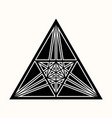 sacred geometry 0073 vector image vector image