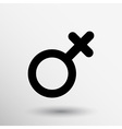 Female sign icon woman gender feminine vector image