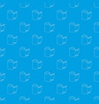 film pattern seamless blue vector image