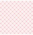 pink tablecloth vector image