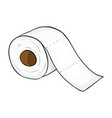 toilet paper roll symbol icon design beautiful vector image vector image