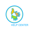 help center vector image vector image