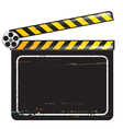 Movie clapper board vector | Price: 1 Credit (USD $1)