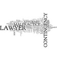 what kind of lawyer to hire in a case of medical vector image vector image