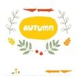 Card Autumn vector image vector image