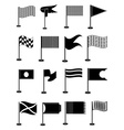 Flags icons set vector image vector image
