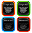 label tag design elements vector image