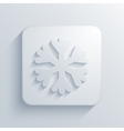 modern snowflake light icon vector image