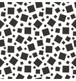 square geometric seamless pattern vector image
