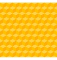 Yellow geometric seamless background vector image