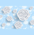 abstract roses background vector image