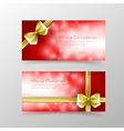 007 Christmas card template for invitation and vector image vector image
