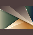 3d modern abstract template geometric vector image